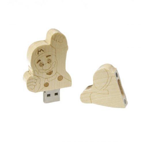 TEKNO 125 – AHŞAP USB BELLEK